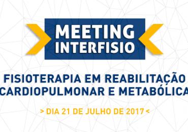 VII Meeting InterFISIO – Fisioterapia em Reabilitação Cardiopulmonar e Metabólica