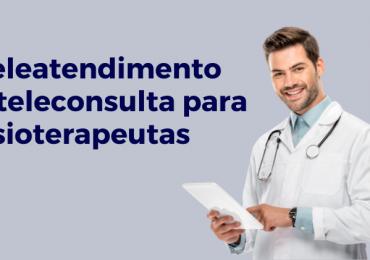 Teleatentedimento e consulta para fisioterapeutas