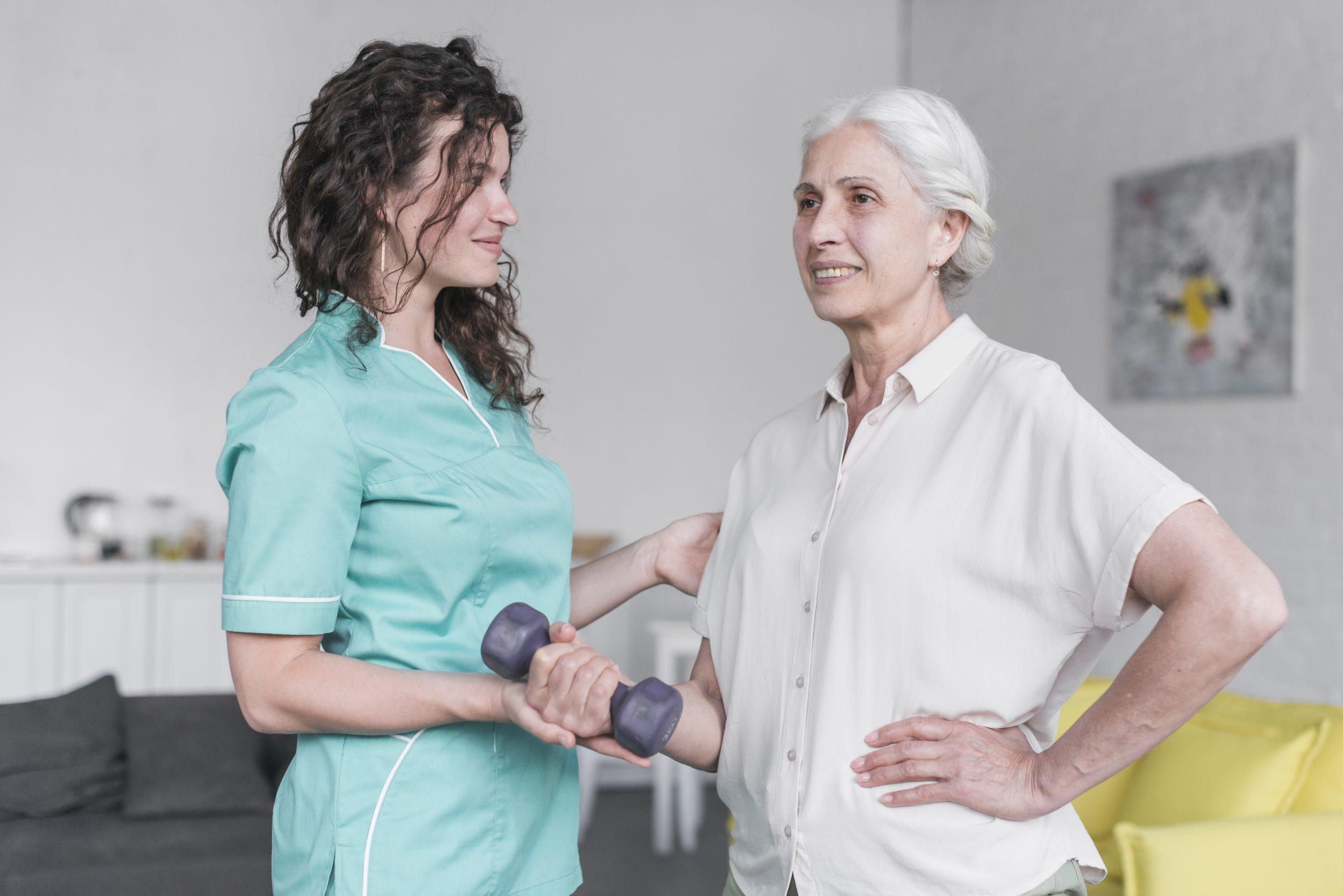 Os benefícios da fisioterapia em gerontologia na saúde do Idoso